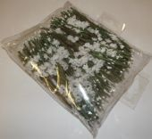 Heather x 12 Stems x 12 Bunches White