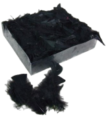 Turkey Feathers box Black