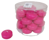 Floating Candle Small 74 Fuschia x 28