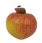 Apple w. weight 7cm Lt Red