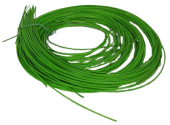 Bamboo Rope Twist (Rattan) 3 mm Apple Green x 250 gr