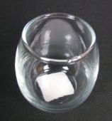 Rolypoly Votive 5oz Clear Glass