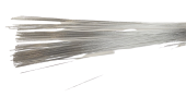 Metallic Paper Covered Wire Lengths - Silver