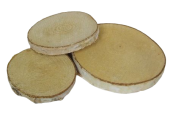 Birch Woodslices Big Round x 19 pcs - App 10cm Diameter