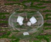 Glass Bubble Bowl 30 x 24cm