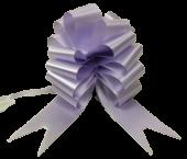 50mm Pull Bows Lavender x 20pcs