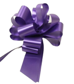 50mm Pull Bows Purple x 20pcs