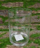 Glass Cylinder 15 x 10cm