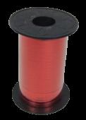 5mm x 250mtr Red Metallic Curling Ribbon