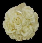 6inch (15cm) Kissing Ball Ivory