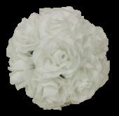 6inch (15cm) Kissing Ball White