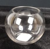 Glass Bubble Bowl 12.5 x 10cm