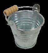 5.5cm Galvanised Zinc Bucket