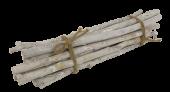 Bundle Birch Round 35cm Misty White