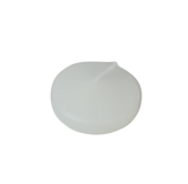 Large Floating Candles x 8 White (8cm Diameter)