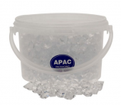 1.6kg Bucket Clear Large Acrylic Stones