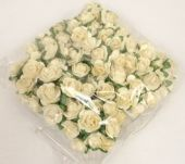 New Tea Rose Pic x 12 Stems x 6 Bunches Cream
