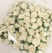 New Tea Rose Pic x 12 Stems x 6 Bunches White
