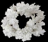 Snow Flakes Wreath 50cm