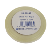 Clear Pot Tape 12mm x 50mtr