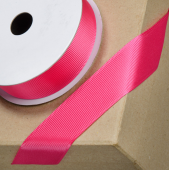 Grosgrain Ribbon 16mm x 10mtr Fuchsia