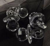 Acrylic Large Dummy Clear 4.5cm x 6pcs