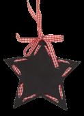 Star Chalkboard Hanger 12cm