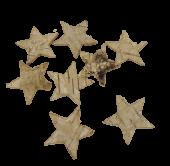 72 Loose Stars Natural App 3.5cm