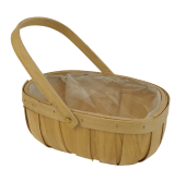 Trug Newent 28cm Oval Natural