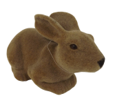 Rabbit 28cm Brown