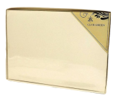 Ivory Guest Book In PVC Box 245 x 170mm