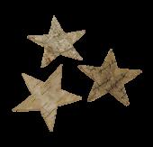 Loose Stars Natural 7cm x 24pcs
