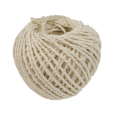 Paper Rope Spool White
