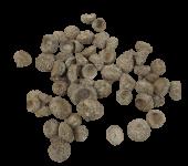 Oak Nut Caps Stone Washed White x 200g