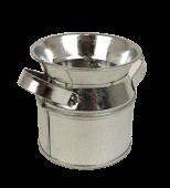 Galvanised Urn H7cm