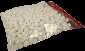 pbh. mini deco balls 140 gr. white 18 mm