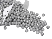 Mini Deco Balls 12mm x 140g Silver