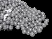 Mini Deco Balls 18mm x 140g Silver