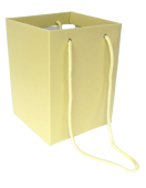Olympic Bouquet Box 25 x 18 x 18cm - Rope Handles Ivory