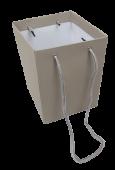 Olympic Bouquet Box 25 x 18 x 18cm - Rope Handles Grey x 10