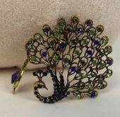 Jewellery Peacock Ornament 12