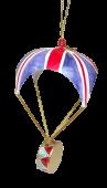 Union Jack Parachute w/Drum