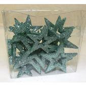 Glitter Stars Open Assorted Sizes Jade