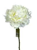 38cm Peony Pick  Cream