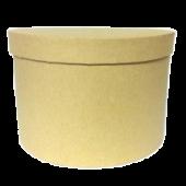 Kraft Hatbox D - 21cm