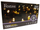 1000 Dual Power Lights - Warm White