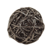 1 Paper Rope Ball Dchampagne D6 Cm