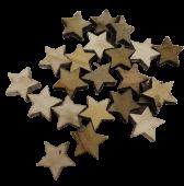 """24 Wooden """"Stars"""" Ass 3 Cm"""