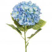 Hydrangea Large 101cm (App 25cm Head) Pale Blue