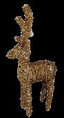 78cm Reindeer Natural Wood